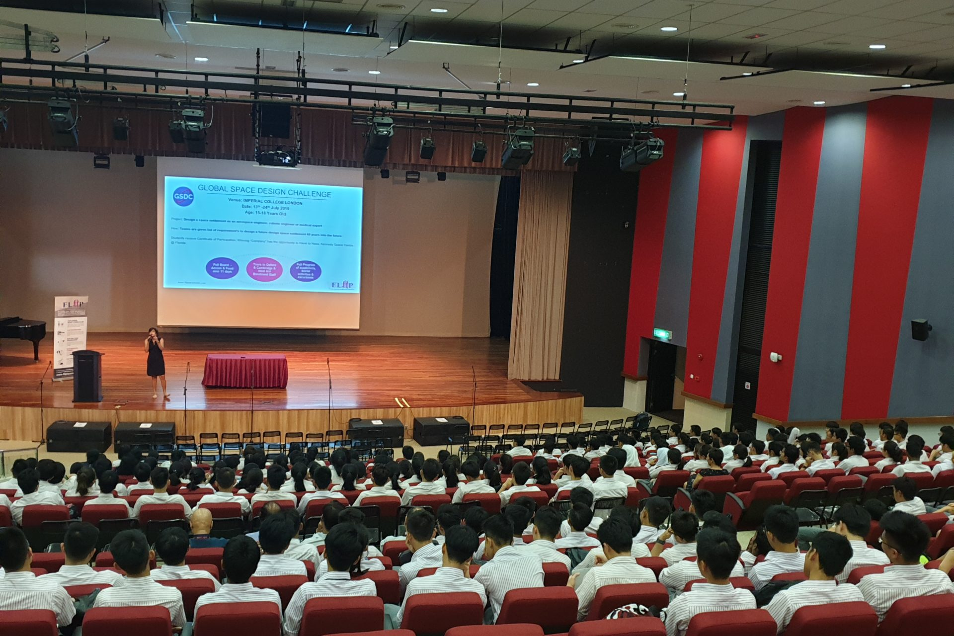 Imspiring students is what we do best. Be Career ready seminar at Kolej Tuanku Jafar